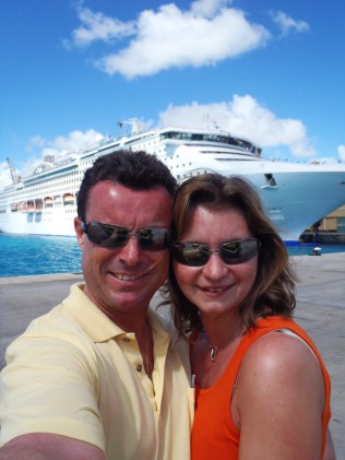 Honeymoon, Caribbean Cruise, Princess Cruises, Sea Princess, Wir, Hochzeitsreise, Kreuzfahrt, Karibik, Liebe, Welt, Barbados, Trinidad & Tobago, ABC-Inseln, Bonaire, Aruba, Geburtstag, Cayman Islands, Jamaica, Tortola, British Virgin Islands, Antigua & Ba
