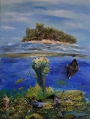 Riff, Meer, Sonne, Strand, Insel, Paradies