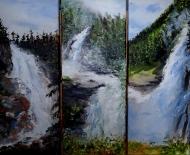 Krimmler Wasserfälle, Salzburg, Oberer, Mittlerer, Unterer Fall