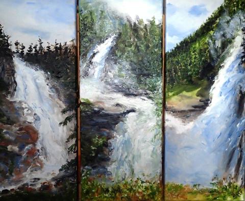 Krimmler Wasserfälle, Oberer, Unterer, Mittlerer Fall, Salzburg