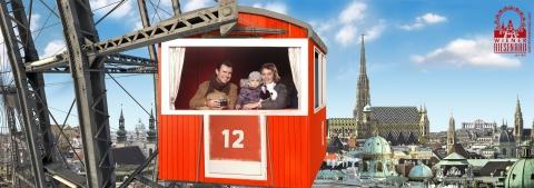Wir Wien Riesenrad Prater Vienna Stephansdom