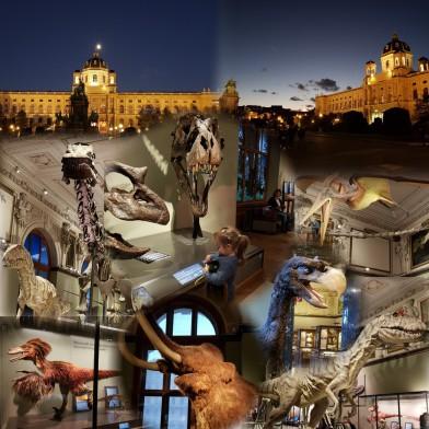 Vienna, Museum, Nature, Dinosaur