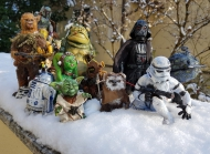 Star Wars, Classic Trilogy, George Lucas, Boba Fett, Chewbacca, Tusken Raider, C-3PO, R2-D2, Yoda, Jabba, Oola, Jawa, Wicket, Vader, Stormtrooper, Death Star