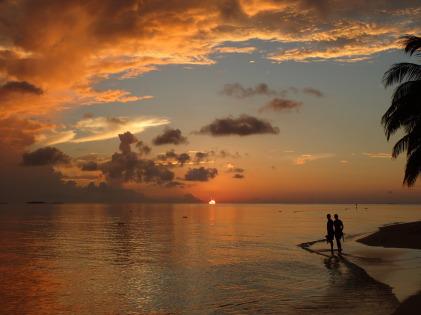 Vilamendhoo Maldives, Sonnenuntergang