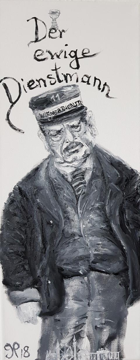 Hans Moser, Dienstmann, Film, Wien, Österreich