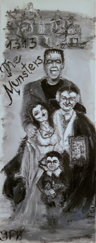 Munsters, Movie, Family, Mockingbird Lane, Frankenstein, Dracula