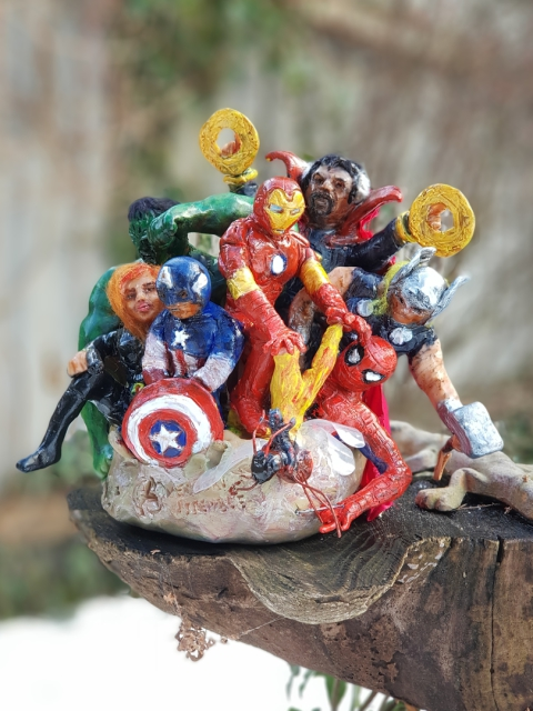 Avengers, Marvel, Diorama