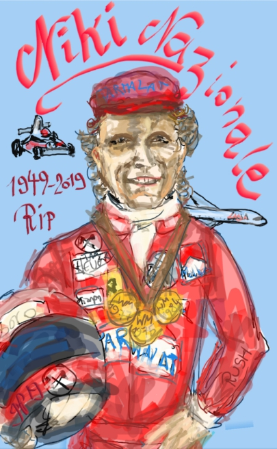 Niki Lauda, Formel 1, RIP