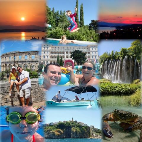 Kroatien, Urlaub, Sonne