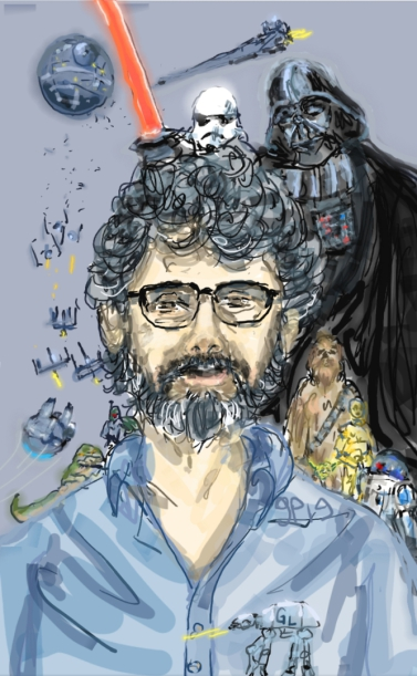 George Lucas, Star Wars, Darth Vader, Science Fiction, Disney