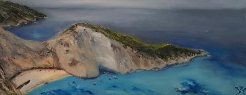 Zante, Griechenland, Hellas, Shipwreck Bay