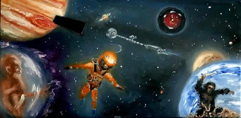 2001, Space Odyssey, Kubrick, Monolith, HAL, Jupiter, Starchild, Bowman
