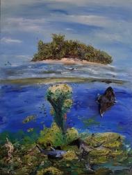 Riff, Meer, Malediven, Paradies
