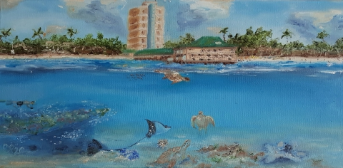 Karibik, Caribbean, Barbados, Meer, Sandstrand, Paradies
