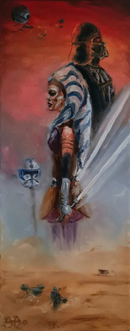 Ahsoka, Star Wars, Mandalorian,  Clone Wars, Vader