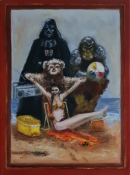 Star Wars, Nostalgia, Vader, Leia, Wicket, Gamorrean