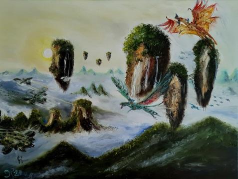 Paradise,Invasion, Avatar, Pandora, Cameron, Movies, Flying Mountains